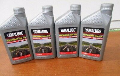 Yamaha Yamalube 20W-50 Semi Synthetic 4 Quarts Performance Oil Motorcycle ATV