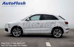 2017 Audi Q3 Progressiv quattro* Toit-Pano* Push-Start* Camera