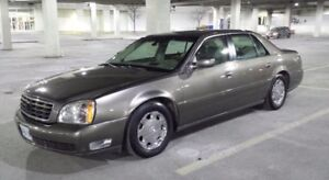 One of a kind 2002 Cadillac DeVille DHS-DVD winter tires 173k