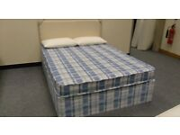 Brand new double bed, with mattress and base