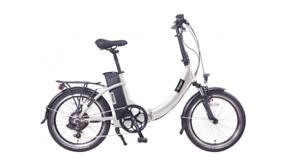 Electric Bike- Red Amego The Fold Bike