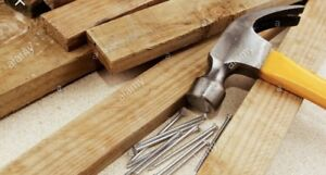 Wood and Nails Wanted: Greatly Appreciated