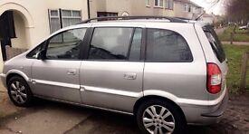 Vauxhall Zafira - 7 Seats