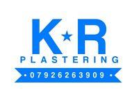 Plasterer **Availability**