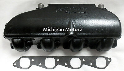 Genuine MerCruiser 8.1L, 496 MAG Exhaust Manifold without Water Rail - 866178T01
