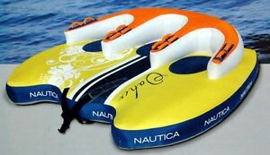 Nautica three person inflatable boat towable