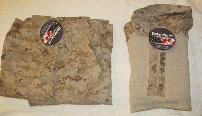 NEW USMC DESERT DIGITAL MARPAT FROG PANTS, FROG SHIRT, FRC, MEDIUM REGULAR MR *