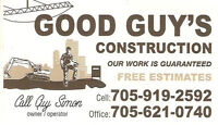 Full Home Makeovers? Call Good Guy's Construction
