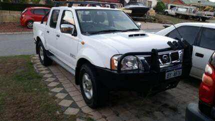 2012 Nissan Navara D22 Turbo Diesel 4WD Dual Cab