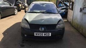Breaking Renault Clio Dynamique 16V 1.2 Silver Hatchback Door glass window front rear os ns