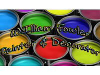 William Fowler Professional Painter & Decorator
