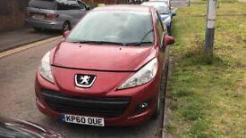 BREAKING Peugeot 207 Sport 3dr 1.4 Red bumper wing door front rear window glass offside nearside