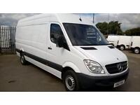 Mercedes-Benz Sprinter L/W/B High Roof 3.5T Van DIESEL MANUAL WHITE (2013)