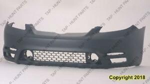 Bumper Front Primed Without Spoiler Hole Base/Xr Models CAPA Toyota Matrix 2003-2004