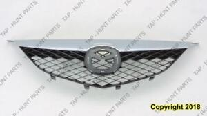 Grille With Chrome Moulding Std Mazda 6 2003-2005