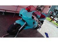 2000 Yamaha R6 Race bike 5eb