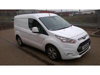 Ford Transit Connect 1.6 Tdci 115Ps Limited Van DIESEL MANUAL WHITE (2014)