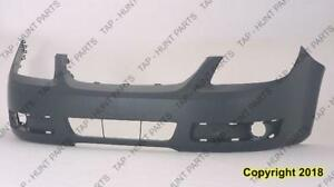 Bumper Front Primed With Fog Lamp Hole Lt Model Has Without Uprer Bar In Grille CAPA Chevrolet Cobalt 2005-2010