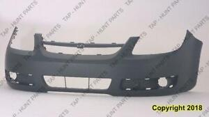 Bumper Front Ls/Lt Models With Fog Light Hole Has Uprer Bar In Grille Chevrolet Cobalt 2005-2010