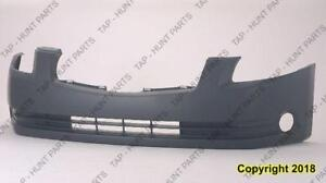 Bumper Front Primed With Fog Light Hole Nissan MAXIMA 2004-2006