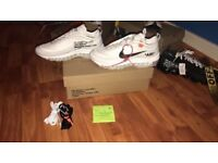 AUTHENTIC NIKE X VIRGIL OFF WHITE COLLAB AIR MAX 97 SIZE 5.5 UK tags supreme adidas gucci