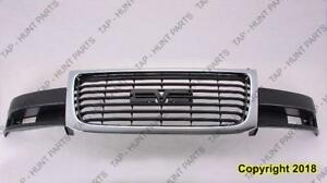 Grille Composite Chrome/Black  GMC Savana Van 2003-2016
