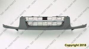 Grille Xe Model With Silver Moulding Matt-Black Nissan XTERRA 2002-2004