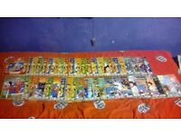 ISSUES 1 TO 49 (MISSING 35,38) OF JACKIE CHAN ADVENTURES PLUS LOADS OF ACCESSORIES