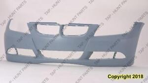 Bumper Front Without Sensor Without Headlamp Wash Hole Primed Sedan 3.0L/Wagon BMW 3-Series 2006-2008