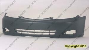 Bumper Front Primed Se/Xle Usa (With Fog Light Hole) Toyota Camry 2002-2004