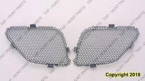 Grille Upper Driver Side (Inr) Black Steel Use With Gm1000731 Cover PONTIAC G6 2005-2009