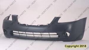 Bumper Front Primed High Quality Nissan ALTIMA 2002-2004