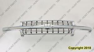 Grille Chrome Chevy Only Chevrolet Suburban 2000-2006