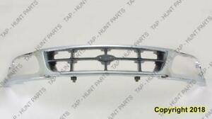 Grille Chrome/Gray Rwd Ford F150 1997-2005