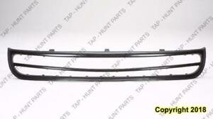 Grille Moulding Lower Without Fog Light With Center Bar Volkswagen Beetel 1998-2005