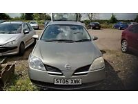Nissan Primera for sale. Mot till 03/18. Good Condition.