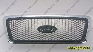 Grille Matt With Honey Comb Xlt Ford F150 2004-2005