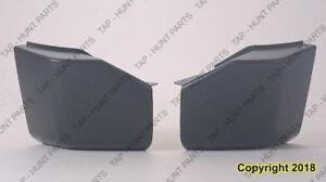 Bumper End Rear  Passenger Side Primed Without Sensor Hole Nissan ARMADA 2004-2007
