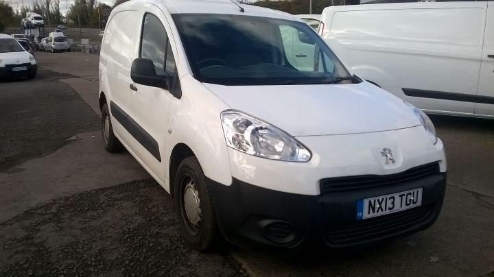 Peugeot Partner 850 S 1.6 Hdi 92 Van DIESEL MANUAL WHITE (2013)