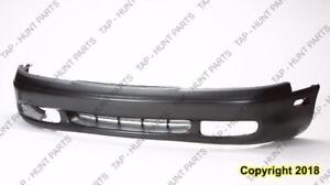 Bumper Front Primed With End Hole Mazda 626 1993-1997