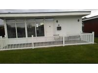 chalet for hire in chapel st leonards on the cherry park site with ingomells and skegness