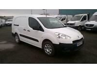 Peugeot Partner 716 S 1.6 Hdi 92 Crew Van DIESEL MANUAL WHITE (2015)