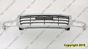 Grille Chrome/Black  GMC Sierra 2003-2007