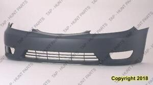 Bumper Front Primed Se/Xle Usa (With Fog Lamp Hole) Toyota Camry 2005-2006