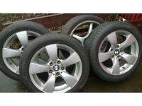 Bmw alloys tyres
