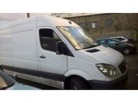 Breaking mercedess sprinter 311 w906 2008