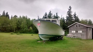 Wooden fishing boat  Reduced 6500$
