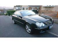 Mercedes-Benz CLK 320 3.0 CDI V6 Avantgarde..... (Diesel) 7G-Tronic Gearbox