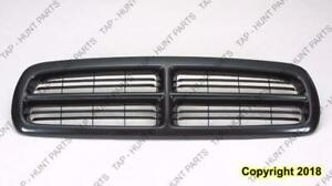 Grille Black Dodge Dakota 1997-2004