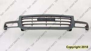 Grille Textured Gray 1500/2500 GMC Sierra 2001-2007